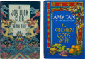 Books:Fiction, Amy Tan. Two First Editions, One Signed, including: The Joy LuckClub. G. P. Putnam's Sons, [1989.] Signed. Ligh... (Total: 2Items)