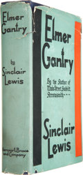 Books:First Editions, Sinclair Lewis. Elmer Gantry. New York: Harcourt Brace andCompany, [1927]....