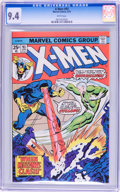 Bronze Age (1970-1979):Miscellaneous, X-Men #93 (Marvel, 1975) CGC NM 9.4 White pages....