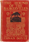 Books:First Editions, Arthur Conan Doyle. The Hound of the Baskervilles. London:George Newnes, Limited, 1902....