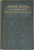Books:First Editions, Edgar Lee Masters. Spoon River Anthology. New York: TheMacmillan Company, 1915.. First edition, first issue (... (Total: 3Items)