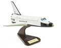 Explorers:Space Exploration, Space Shuttle Orbiter Wooden Scale Model Directly from the PersonalCollection of Astronaut Paul Weitz, Certified and Signed...