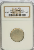 Errors, ND 25C Clad Type 2 Planchet NG NGC....