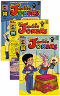 Bronze Age (1970-1979):Cartoon Character, Jackie Jokers #1-4 File Copies Group (Harvey, 1973) Condition:Average NM-.... (Total: 4 Comic Books)