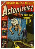Golden Age (1938-1955):Horror, Astonishing #26 (Atlas, 1953) Condition: FN/VF....