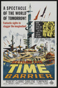 "Movie Posters:Science Fiction, Beyond the Time Barrier (American International, 1959). One Sheet(27"" X 41""). Science Fiction. Starring Robert Clarke, Darl..."