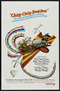 "Chitty Chitty Bang Bang (United Artists, 1968). One Sheet (27"" X 41""). Comedy. Starring Dick Van Dyke, Lionel..."