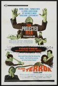 "Movie Posters:Horror, The Projected Man/Island of Terror Combo (Universal, 1967). OneSheet (27"" X 41""). Horror.. ..."