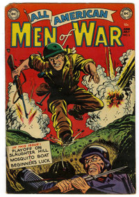 All-American Men of War #5 (DC, 1953) Condition: GD