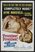 "Movie Posters:Sexploitation, Promises! Promises! (NTD, 1963). One Sheet (27"" X 41"").Sexploitation. Starring Jayne Mansfield, Mickey Hargitay, MarieMcDo..."