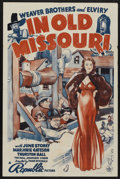 "Movie Posters:Adventure, In Old Missouri (Republic, 1940). One Sheet (27"" X 41""). Adventure.Starring The Weaver Brothers and Elviry (Leon Weaver, Fr..."