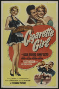 "Movie Posters:Musical, Cigarette Girl (Columbia, 1947). One Sheet (27"" X 41""). Musical. Starring Leslie Brooks, Jimmy Lloyd, Ludwig Donath, Doris H..."