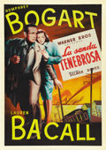 "Movie Posters:Film Noir, Dark Passage (Warner Brothers, 1947). Spanish One Sheet (27"" X41""). ..."