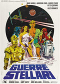 "Movie Posters:Science Fiction, Star Wars (20th Century Fox, 1977). Italian 2 - Folio (39"" X 55"")...."