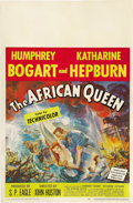 "Movie Posters:Adventure, The African Queen (United Artists, 1952). Window Card (14"" X 22"")...."