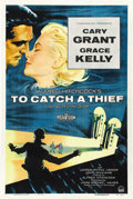 "Movie Posters:Hitchcock, To Catch a Thief (Paramount, 1955). One Sheet (27"" X 41""). ..."