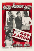 "Movie Posters:Film Noir, Key Largo (Warner Brothers, 1948). One Sheet (27"" X 41"")...."