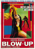 "Movie Posters:Thriller, Blow-Up (MGM, 1967). Italian 4 - Folio (55"" X 78""). ..."