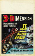 "Movie Posters:Science Fiction, It Came from Outer Space (Universal, 1953). Window Card (14"" X22""). ..."