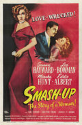 "Movie Posters:Drama, Smash-Up: The Story of a Woman (Universal, 1947). One Sheet (27"" X41""). ..."