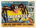 "Movie Posters:Science Fiction, Tarantula (Universal, 1955). Half Sheet (22"" X 28"") Style A. ..."