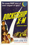 "Movie Posters:Science Fiction, Rocketship X-M (Lippert, 1950). One Sheet (27"" X 41""). ..."