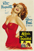"Movie Posters:Film Noir, Affair in Trinidad (Columbia, 1952). One Sheet (27"" X 41"") StyleA...."