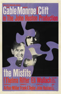 "Movie Posters:Drama, The Misfits (United Artists, 1961). International One Sheet (27"" X41""). ..."