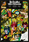 "Movie Posters:Animated, Yellow Submarine (United Artists, 1968). German One Sheet (23"" X 33""). ..."