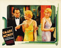 "Movie Posters:Crime, Smart Money (Warner Brothers, 1931). Lobby Card (11"" X 14""). ..."