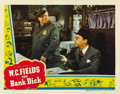 "Movie Posters:Comedy, The Bank Dick (Universal, 1940). Lobby Card (11"" X 14""). ..."