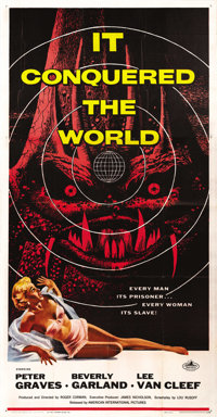 "It Conquered the World (American International, 1956). Three Sheet (41"" X 81"")"