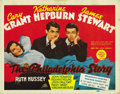 "Movie Posters:Romance, The Philadelphia Story (MGM, 1940). Title Lobby Card (11"" X 14"")...."
