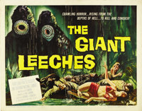 "The Giant Leeches (American International, 1959). Half Sheet (22"" X 28"")"