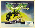 "Movie Posters:Science Fiction, The Wasp Woman (Film Group, Inc., 1959). Half Sheet (22"" X 28"")...."