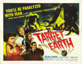 "Movie Posters:Science Fiction, Target Earth (Allied Artists, 1954). Half Sheet (22"" X 28"") StyleA. ..."
