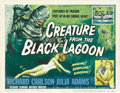 "Movie Posters:Horror, Creature from the Black Lagoon (Universal International, 1954).Title Lobby Card (11"" X 14""). ..."
