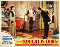"Tonight is Ours (Paramount, 1933). Lobby Card (11"" X 14"")"