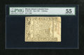 Colonial Notes:Rhode Island, Rhode Island May 1786 1s PMG About Uncirculated 55....