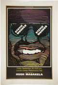 Music Memorabilia:Posters, Stevie Wonder Lincoln Center Concert Poster (Gary Keys, 1969)....