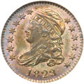 Bust Dimes, 1823/2 10C Small Es MS66 NGC....