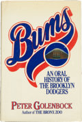 Autographs:Others, Brooklyn Dodgers Signed Book. ...