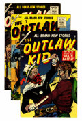 Silver Age (1956-1969):Western, Outlaw Kid Group (Atlas, 1955-56) Condition: Average VF-....(Total: 9 Comic Books)