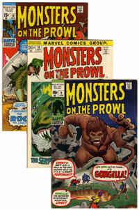 Monsters on the Prowl #9-30 Group (Marvel, 1971-74) Condition: Average VF+.... (Total: 22 Comic Books)