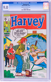 Harvey #2 (Marvel, 1970) CGC VF/NM 9.0 Cream to off-white pages