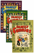 Golden Age (1938-1955):Humor, Family/Junior Funnies Group (Harvey, 1950-52) Condition: Average VF+.... (Total: 11 Comic Books)