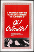 "Movie Posters:Musical, Oh! Calcutta! (Cinemation Industries, 1972). One Sheet (27"" X 41""). Musical.. ..."
