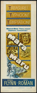"Movie Posters:Adventure, Mara Maru Lot (Warner Brothers, 1952). Inserts (2) (14"" X 36"").Adventure.. ... (Total: 2 Items)"
