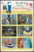 "Movie Posters:Animated, The Sword in the Stone (Buena Vista, 1963). One Sheet (27"" X 41"") Style B. Animated.. ..."
