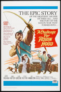 "Movie Posters:Adventure, A Challenge for Robin Hood (20th Century Fox, 1967). One Sheet (27""X 41""). Adventure.. ..."